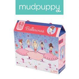 Puzzle Mudpuppy - 63 elementy - Baletnice