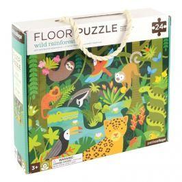Puzzle podłogowe Petit Collage - dżungla  (3+)