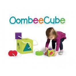 Oombee Cube - sorter z elementami na sznureczku