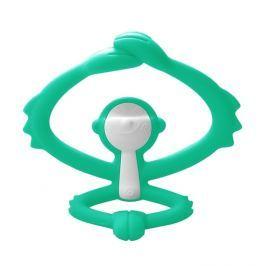 Zabawka Gryzak Mombella Małpka - zielony