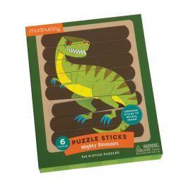 Puzzle-patyczki Mudpuppy - dinozaury