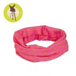 Opaska wielofunkcyjna Twister Coolmax (UV 40+) - Peach Stars