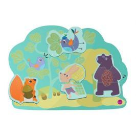 Zabawka do zamocowania na ścianie VertiPlay Oribel - leśni przyjaciele