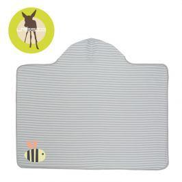 Ręcznik-poncho Splash&Fun 100x70 cm - Bumble Bee
