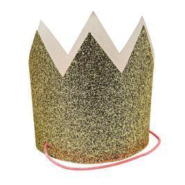 Mini korony Meri Meri (8szt.) - złote
