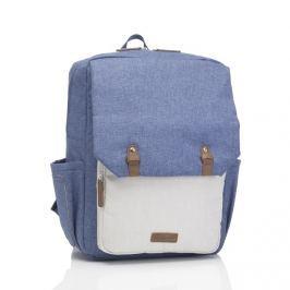 Plecak dla rodziców Babymel George - blue/oatmea