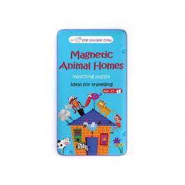 Gra Magnetyczna (3+) - Puzzle zwierzęta i ich domy