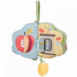 Miękka książeczka z gryzakiem - Treetop Pastel