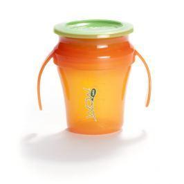 Kubek niekapek 360° baby juicy - pomarańczowy