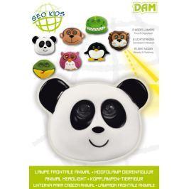 Latarka czołowa LED - panda