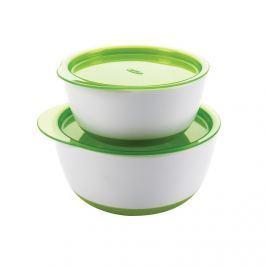 Zestaw miseczek z pokrywkami OXO - green