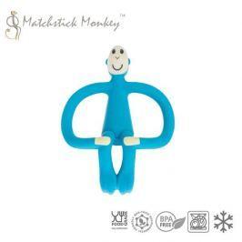 Gryzak do masowania dziąseł - Matchstick Monkey - niebieski
