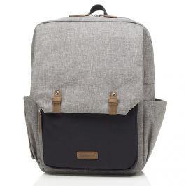 Plecak dla rodziców Babymel George - grey/black