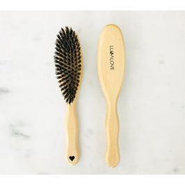 Szczotka do włosów dla dorosłych z włosia dzika Lullalove
