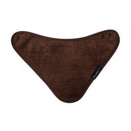 Śliniak Wonder Bib - bandanka brązowy