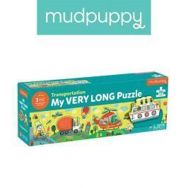 Metrowe puzzle Mudpuppy - Transport (30 elementów)