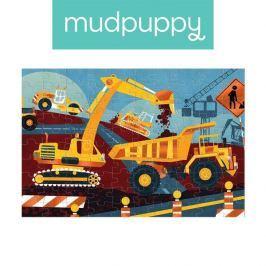 Puzzle z błyszcząca folią Mudpuppy - budowa (100 el.)