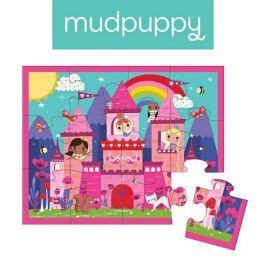 Pierwsze puzzle Mudpuppy - zamek księżniczki (12 elem.)