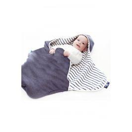 Otulacz - śpiworek dwustronny Coco Wallaboo - Misty striped