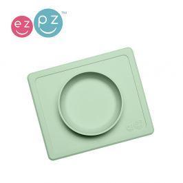 Silikonowa miseczka z podkładką EZPZ 2w1 MIni Bowl - pastelowy zielony