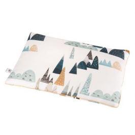 Bambusowa poduszka dla niemowląt Samiboo (25x35) - blue hills