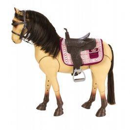 Duży koń z akcesoriami Our Generation - bułany