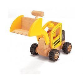 Drewniany pojazd - ładowarka