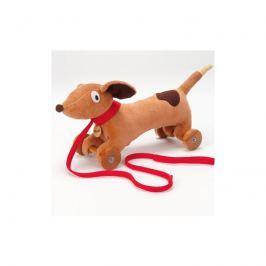 Pluszowy pies Ragtales do ciągnięcia - Wooster
