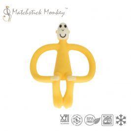 Gryzak do masowania dziąseł - Matchstick Monkey - żółty
