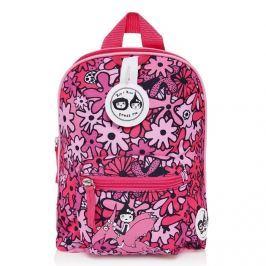 Plecak Zip&Zoe Mini ze smyczą - Floral Pink (1-3lata)