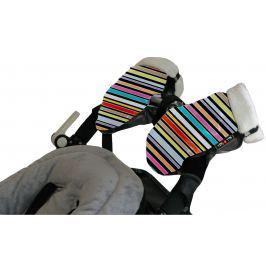 Mufka-rękawice do wózka Tris&Ton - monckey