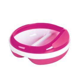 Miseczka dzielona z przykrywką OXO - pink