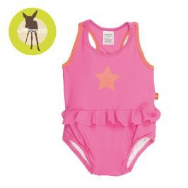Kostium jednoczęściowy z pieluszką Splash&Fun (UV 50+) - light pink (12mc)