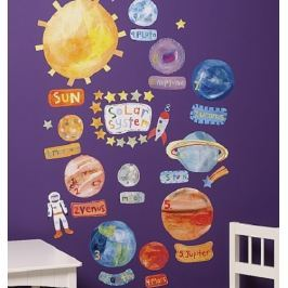 Naklejki naścienne Wallies - układ słoneczny