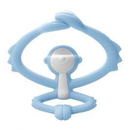 Zabawka Gryzak Mombella Małpka - niebieski