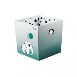 Pudełko Done by Deer Dots - niebieskie