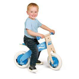 Rowerek biegowy Janod Little Bikloon 2+ niebieski