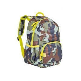 Plecak szkolny pikowany Lassig - camo