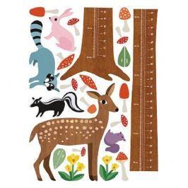 Naklejki naścienne Wallies - miarka las