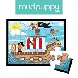 Pierwsze puzzle Mudpuppy - piraci (12 elem.)
