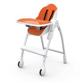 Krzesełko do karmienia  i leżaczek 2w1 Coocoon Oribel - pomarańczowe