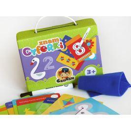 Zabawy edukacyjne znam cyferki 3+