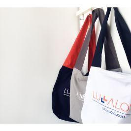 LullaBag - bardzo pojemna i wygodna torba - szara