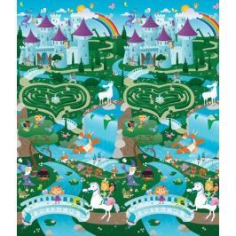 Dwustronna, ogromna mata do zabawy - fantasyland/miasto