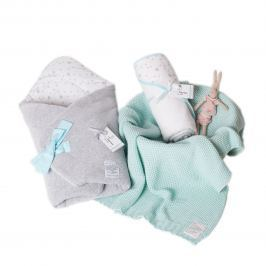 Ręcznik z kapturkiem ColorStories (rozm. M) - MilkyWay Mint