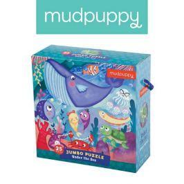 Puzzle Jumbo Mudpuppy - podwodny świat (25 dużych elem.)