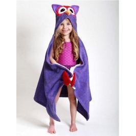 Ręcznik z kapturkiem - sowa