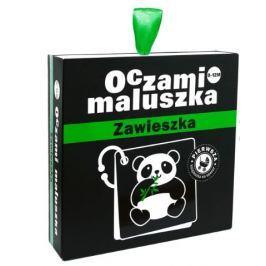 Czarno-białe karty z zawieszką - Oczami Maluszka