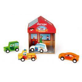 Garaż  z samochodzikami Scratch