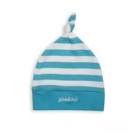 Czapeczka dla niemowląt Juddlies - niebieskie paseczki